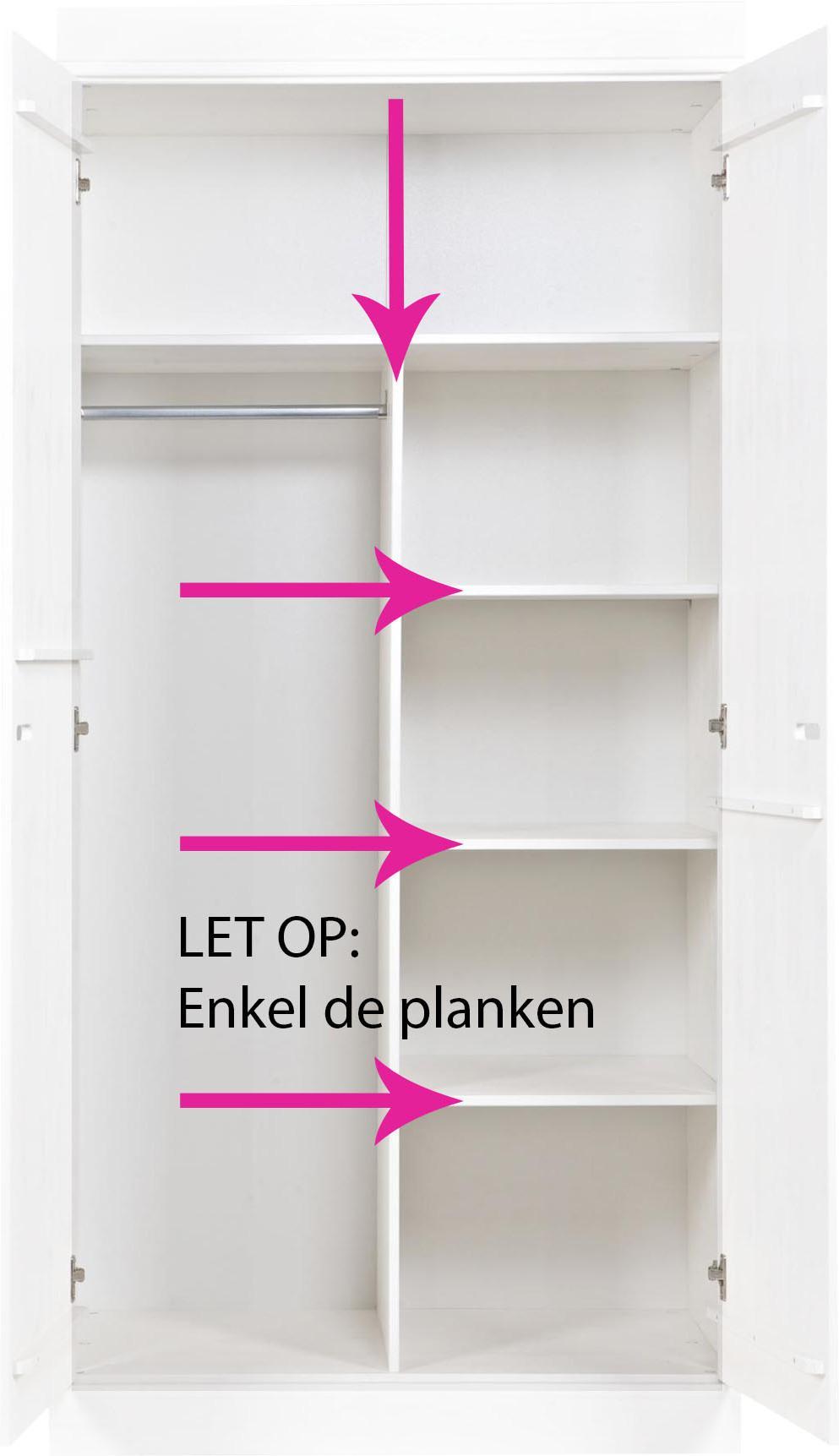 Interieurpakket Connect Geen Kast 3 Planken Woood Lilnl